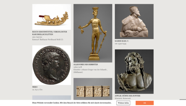 Kunsthistorisches Museum Wien Online Sammlung