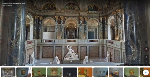 Kunsthistorisches Museum Wien Rundgang