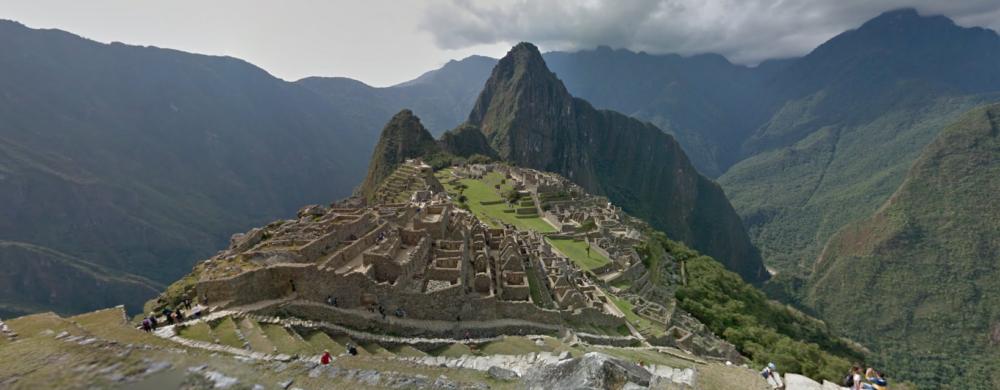 Google Streetview Machu Piccuh Peru