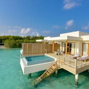 Malediven-Luxus: 8 Tage in TOP 5* Lagoon Villa mit Privat-Pool, All Inclusive, Flug & Transfer für 4.455€