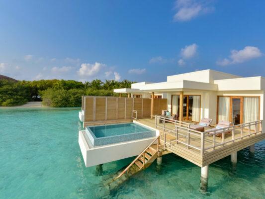 Malediven Dhigali Maldives Lagoon Villa