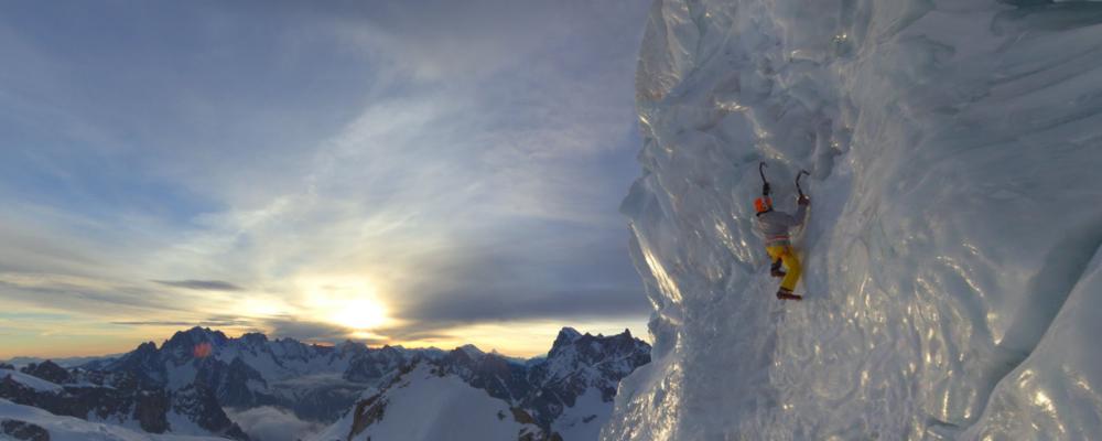 Google Streetview Mount Blanc Frankreich