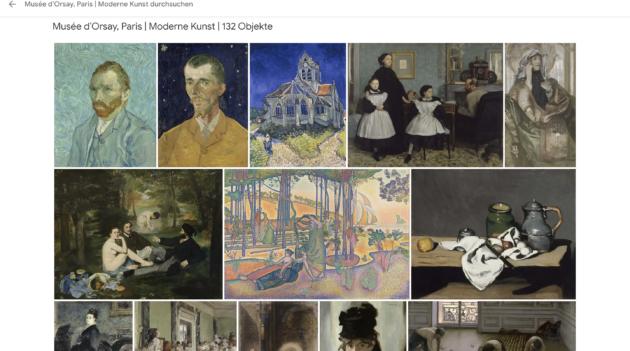Musee d'Orsay Paris Online Sammlung