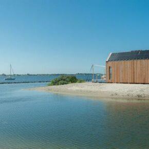 Niederlande Grevelingenstrand Strandhaus Umgebung