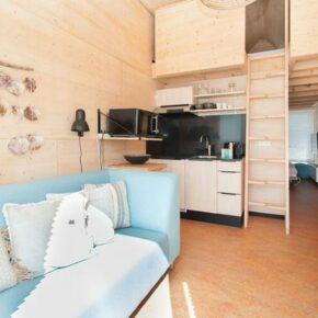 Niederlande Grevelingenstrand Wohnzimmer