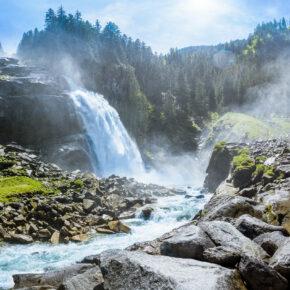 Krimmler Wasserfälle: 3 Tage im Salzburger Land im 4* Hotel mit Frühstück & Spa nur 99€
