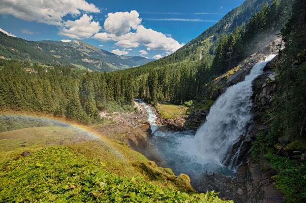 Österreich Salzburger Land Krimmler Wasserfälle