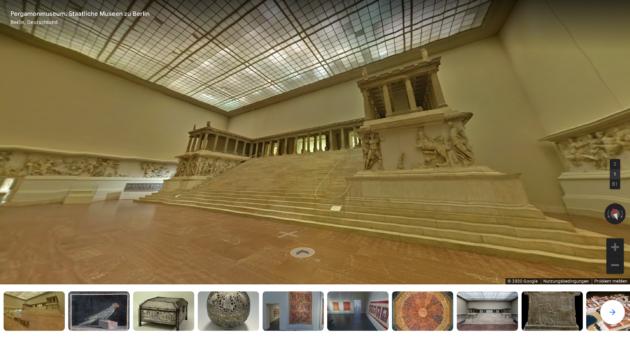 Pergamon Museum Google Arts & Culture Rundgang