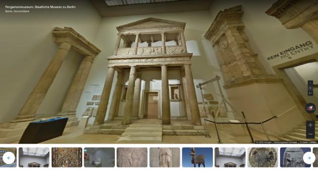 Pergamon Museum Rundgang Tor
