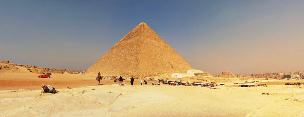 Google Streetview Pyramiden Gizeh