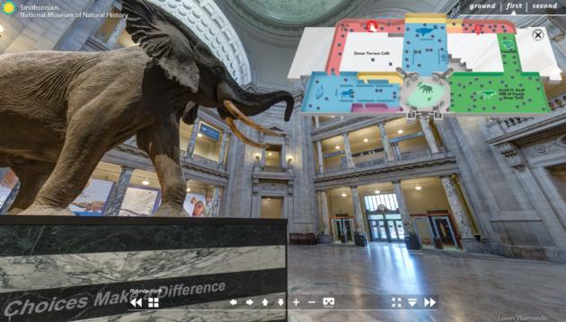 Smithsonian Naturkunde Eingangsbereich