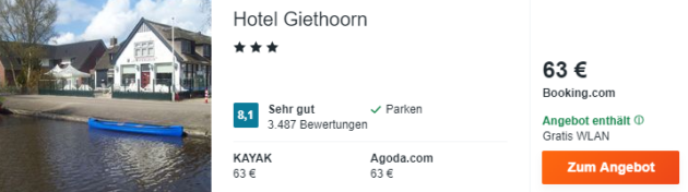 2 Tage Giethoorn
