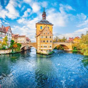 Wochenende im mittelalterlichen Bamberg: 2 Tage mit 3.5* Hotel & Frühstück nur 49€