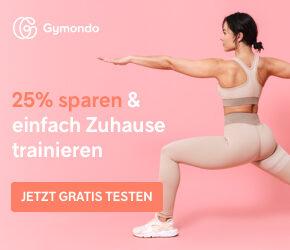Gymondo Gutschein: Startet Euer Training mit kostenloser Probewoche & 60€ Rabatt
