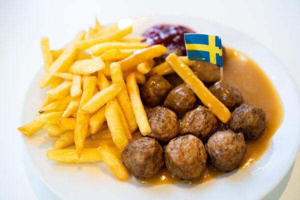 IKEA Koettbullar Pommes