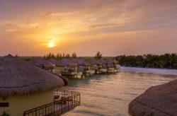 Luxus pur in Mexiko: 7 Tage im 5* Hotel mit Wasser-Bungalow, All Inclusive, Flug & Transfer für 4.2...