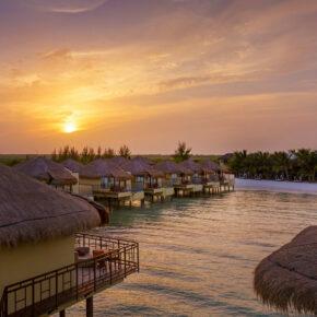 Luxus pur in Mexiko: 7 Tage im 5* Hotel mit Wasser-Bungalow, All Inclusive, Flug & Transfer für 4.195€