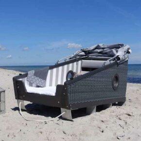 Wellenrauschen: 2 Tage Ostsee am Wochenende mit Schlafstrandkorb & Meerblick nur 38€