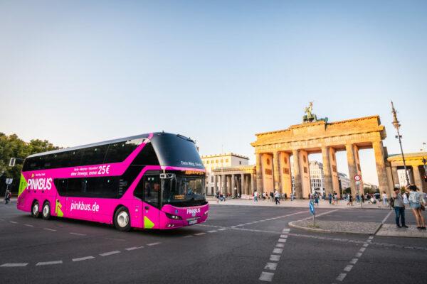 Pinkbus Deutschland Berlin