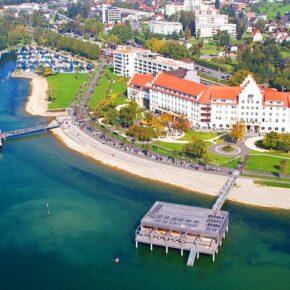 Wellness direkt am Bodensee: 3 Tage im 4* Hotel mit Frühstück, 3-Gänge-Menü & Spa ab 189€