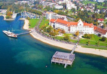Wellness direkt am Bodensee: 3 Tage im 4* Hotel mit Frühstück, 3-Gänge-Menü & Spa ab 169...