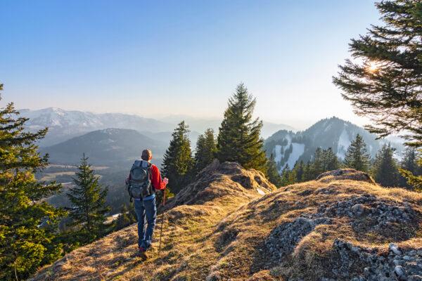 Deutschland Alpen Wandern