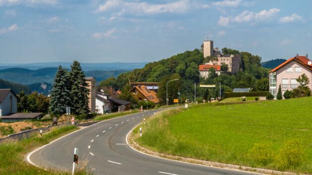 Bayerischer Wald Urlaub: Burg Falkenstein