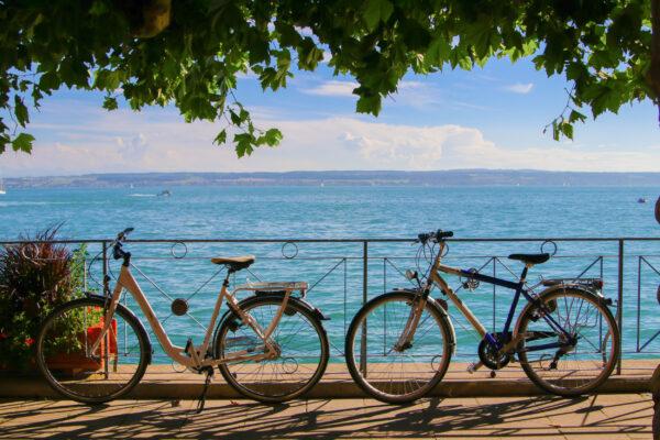 Deutschland Bodensee Fahrrad