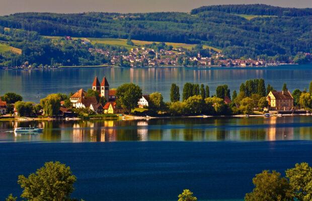 Deutschland Bodensee Insel Reichnau