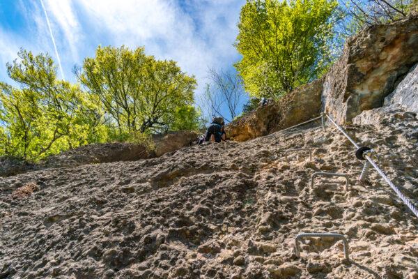 Deutschland Bodensee Klettern