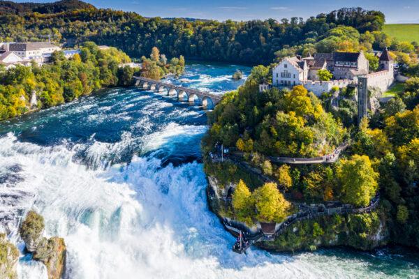 Deutschland Bodensee Rheinfall