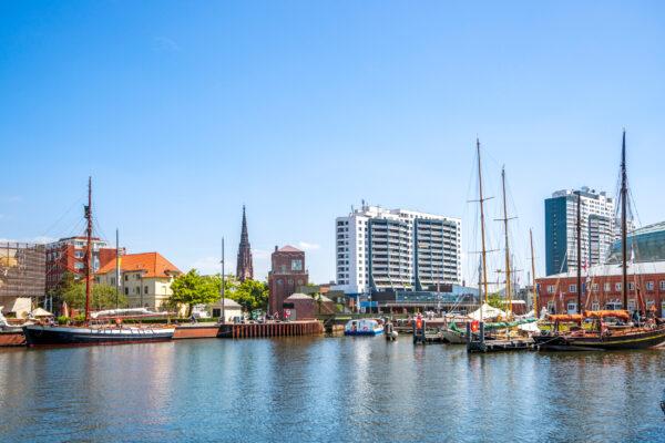 Deutschland Bremerhaven Hafen