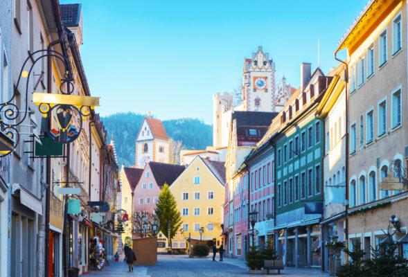 Deutschland Füssen Altstadt