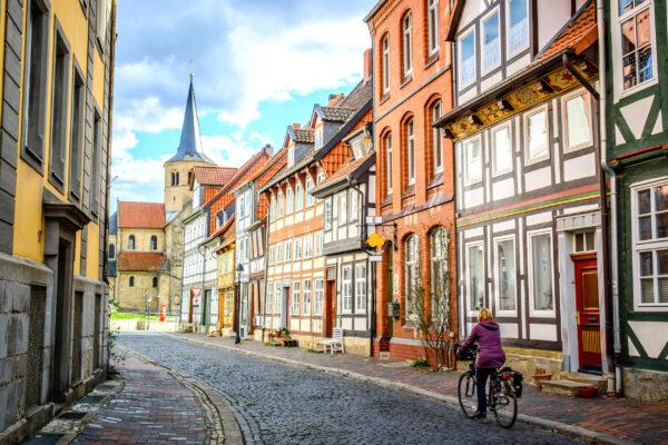 Deutschland Goslar Stadt