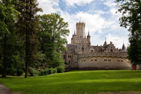Deutschland Hannover Schloss Marienburg