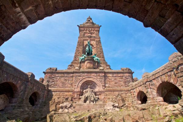 Deutschland Harz Kyffhaeuser Denkmal