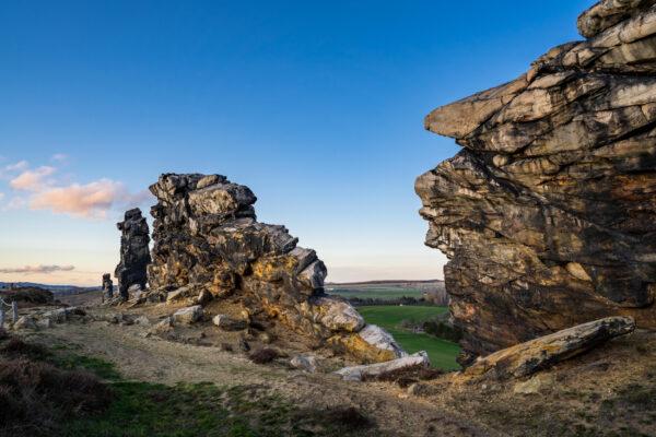 Deutschland Harz Teufelsmauer