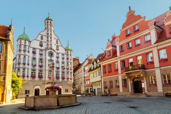 Deutschland Memmingen Rathaus