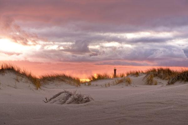 Deutschland Norderney Strand Sonnenuntergang