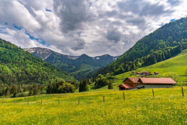 Deutschland Oberstaufen Wanderweg