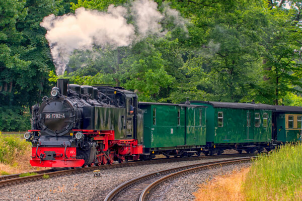 Rügen Urlaub: Rasender Roland