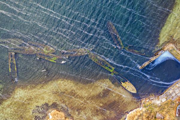 Rügen Urlaub: Schiffswracks Tauchen