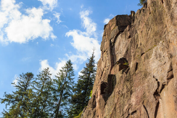 Deutschland Schwarzwald Klettern
