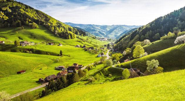 Deutschland Schwarzwald Panorama
