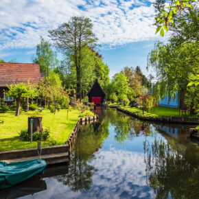 Deutschland Spreewald Fluss