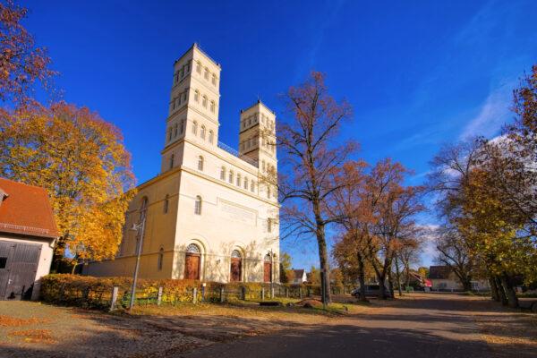 Deutschland Straupitz Schinkelkirche