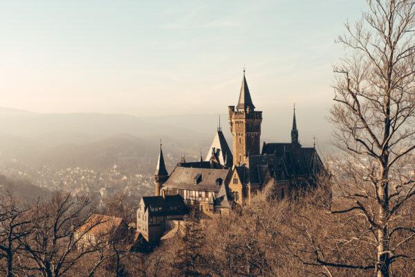 Deutschland Wernigerode Schloss