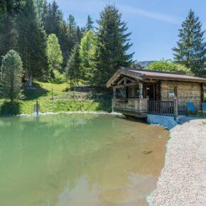 Kuschel-Hütte am Teich: 4 Tage Hohe Tauern Nationalpark mit romantischer Unterkunft ab 131€ p.P.