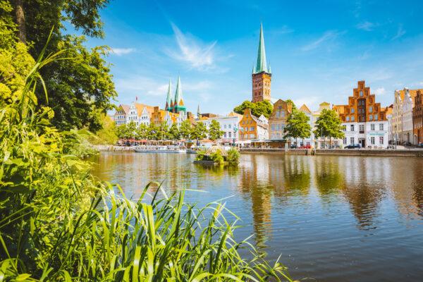 Ostsee Urlaub: Lübeck Trave