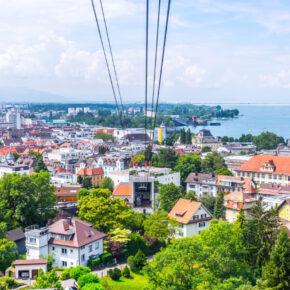 Bregenzer Berge: 3 Tage Österreich im tollen 4* Hotel mit Halbpension & Panoramablick nur 99€